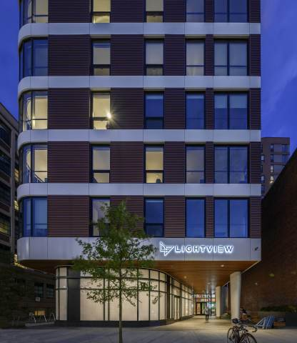 LightView – LEED Platinum student housing community (Photo: Business Wire)