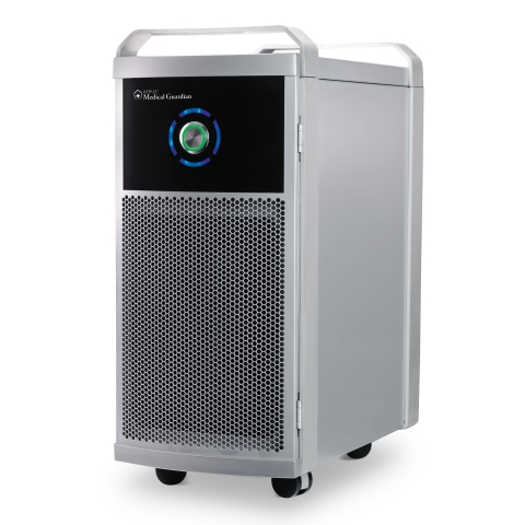 Aerus Medical Guardian with ActivePure Technology reduces bacteria and viruses in the air by 99.99% within 30 minutes and surface contamination by more than 99% after several hours. (Photo: Business Wire)