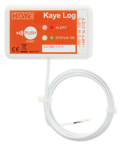 Kaye Log -80 Vaccine Temperature Logger (Photo: KAYE)