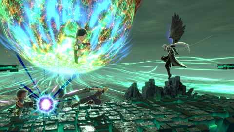 On Dec. 22, Fighters Pass Vol. 2 – Challenger Pack 8 will be released for the Nintendo Switch game and contains Sephiroth as a playable fighter. (Graphic: Business Wire)