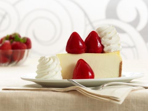 Fresh Strawberry Cheesecake (Photo: Business Wire)