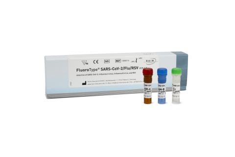 Figure 1: FluoroType SARS-CoV-2/Flu/RSV Test Kit (Photo: Business Wire)