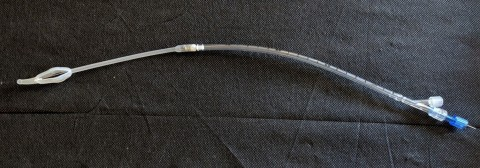 Ingenion Medical's CymActive Soft Valve catheter loaded on its delivery device (Photo: Business Wire)