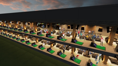 The facility will encompass 40 hitting stalls. (Photo: Business Wire)