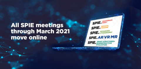 SPIE 2021 Photonics West, Advanced Lithography, AR/VR/MR, and other early 2021 events go virtual (Photo: Business Wire)