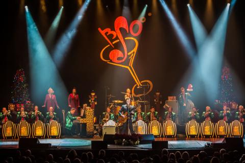 The Brian Setzer Orchestra - photo credit: Greg Hild