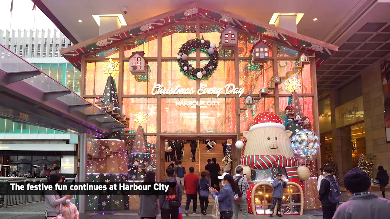 To ensure the festive season feels unique and immersive, Hong Kong retailers, businesses and artists have tapped into technology to bring you Christmas like you've never seen it before.