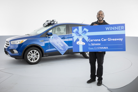 Leading online auto retailer Carvana surprised 21 employees with vehicles at its virtual Carvanafest event. Employees nominated deserving co-workers and awarded vehicles to teammates across the country. (Photo: Business Wire)