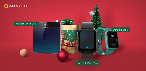Amazfit Bip U Series and Amazfit Smart Scale (Graphic: Business Wire)
