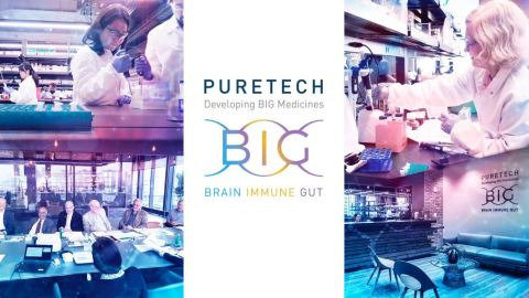 PureTech's founder and chief executive officer, Daphne Zohar, president and chief of business and strategy, Bharatt Chowrira, J.D., Ph.D., and chief innovation officer, Eric Elenko, Ph.D., will present at three upcoming conferences. (Photo: Business Wire)