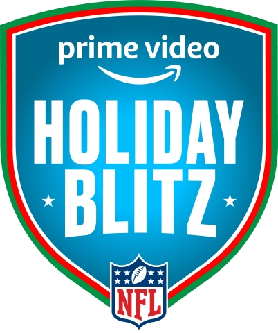 NFL Holiday Blitz on Prime Video (Graphic: Business Wire)
