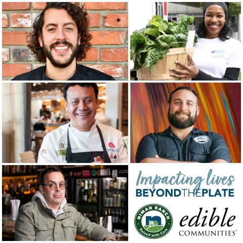 Edible Communities, the award-winning network of more than 80 independently-owned locally focused food magazines, today announced their selection of five food heroes who have gone above and beyond in 2020 to support their community during a time of great need. (Photo: Business Wire)