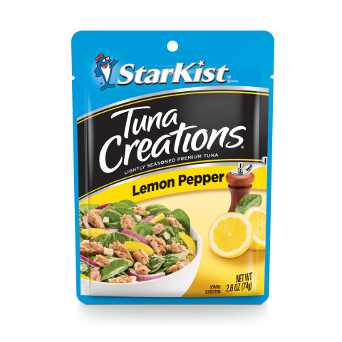 StarKist's Pouches® feature tuna, salmon and chicken and come in a variety of flavors. (Photo: Business Wire)