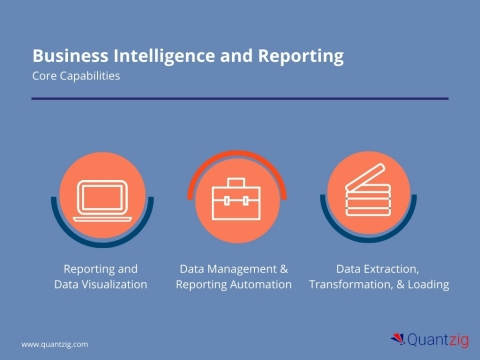 Business Intelligence and Reporting Solution Portfolio (Graphic: Business Wire)