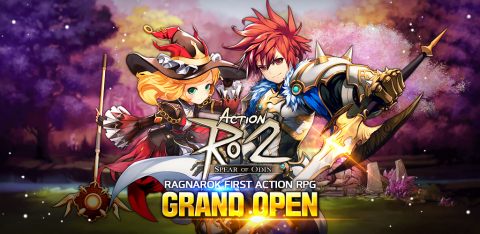 Gravity Neocyon officially launched its new RPG Action RO2: Spear of Odin on December 22 in Indonesia, the Philippines, Malaysia, Singapore, and Australia in the Indonesian and English languages. Action RO2: Spear of Odin is the first Action RPG using the Ragnarok IP and is characterized by fascinating action scenes. To celebrate the launch of Action RO2: Spear of Odin, Gravity Neocyon holds a number of in-game and community events for the users. (Graphic: Business Wire)