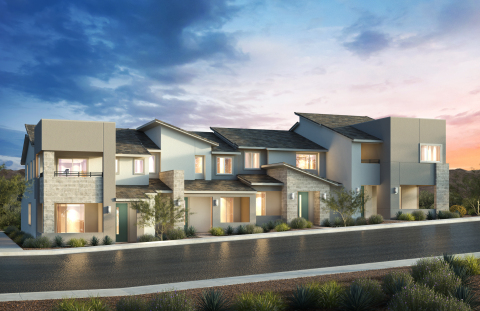 KB Home announces the grand opening of Ascent, a new townhome community located in the premier Summerlin master plan. (Photo: Business Wire)