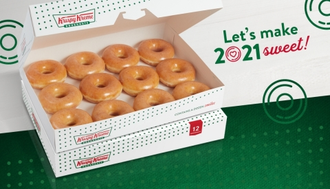 All guests can enjoy two Original Glazed® dozens for just $12 Dec. 31 through Jan. 3 (Photo: Business Wire)