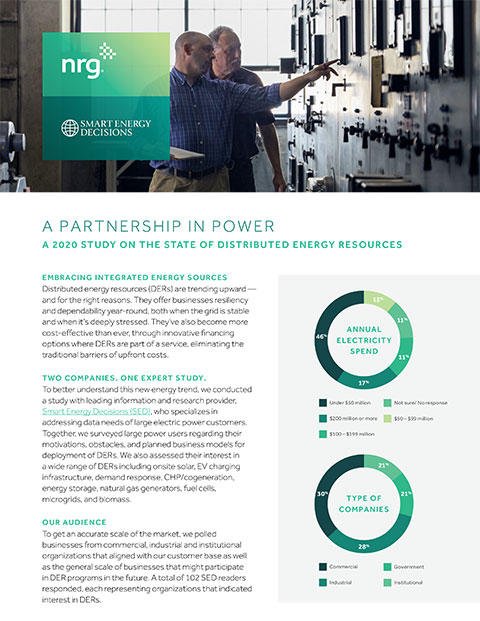 A 2020 Study on the State of Distributed Energy Resources