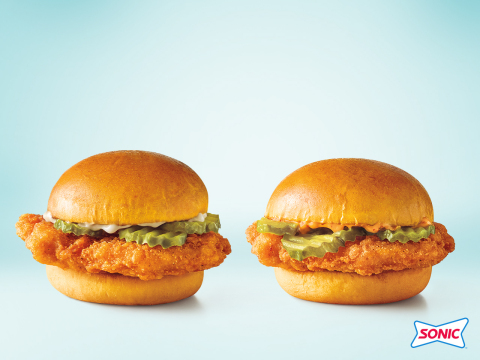 SONIC's Chicken Slingers pack quality flavors guests demand in a chicken sandwich. (Photo: Business Wire)