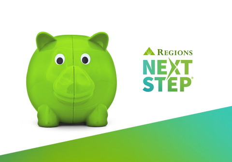 People are resolving to save more in 2021. And free resources from Regions Bank's Next Step program can help, regardless of whether you're a Regions customer. (Graphic: Business Wire)