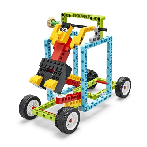 LEGO® Education BricQ Motion Prime Gymnast Lesson (Photo: Business Wire)