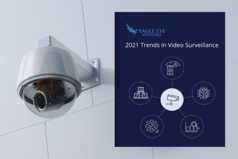 Eagle Eye Networks, the global leader in cloud video surveillance and analytics, forecasts the key trends for 2021 in a new eBook. The events of 2020, combined with technological advances and adoption of cloud and artificial intelligence for video surveillance, will make 2021 a transformational year for the industry. (Photo: Business Wire)