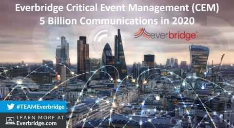 Everbridge Critical Event Management Platform Surpasses 5 Billion Communications in 2020 (Graphic: Business Wire)