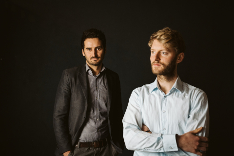 Sono Motors Founders - Laurin Hahn and Jona Christians (Photo: Business Wire)