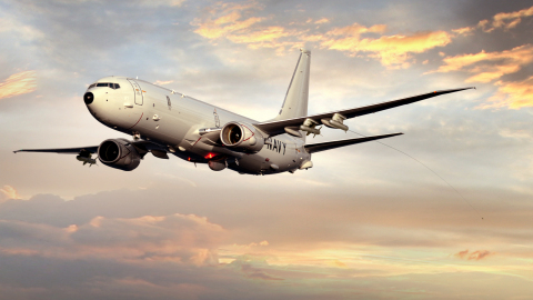 The new pod-mounted radio frequency countermeasure system adds another layer of self-protection to a next-generation Navy aircraft, as this illustration shows. (Photo: BAE Systems)