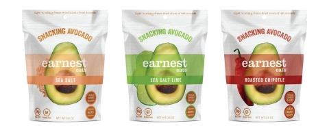Freeze-dried to perfection Earnest Eats Snacking Avocado (Photo: Business Wire)