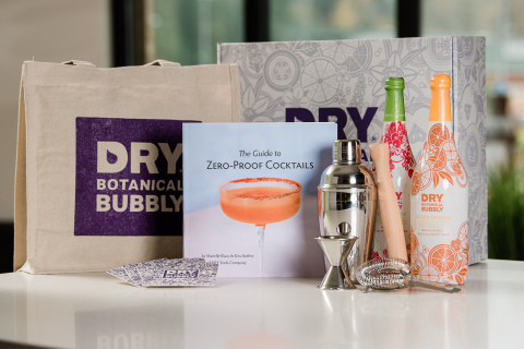 DRY Botanical Bubbly Mixology Gift Set for Dry January (Photo: Business Wire)