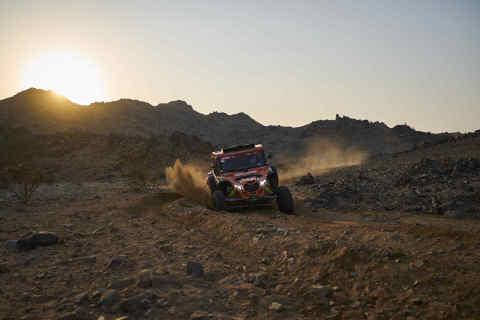 Trailblazing in the Arabian Desert: MyHeritage Sponsors Team Competing in 2021 Dakar Rally (Photo: Business Wire)
