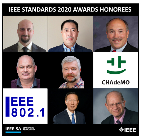 2020 IEEE SA Awards Ceremony recognizes notable contributions to standards development in various industries and technologies. (Photo: Business Wire)