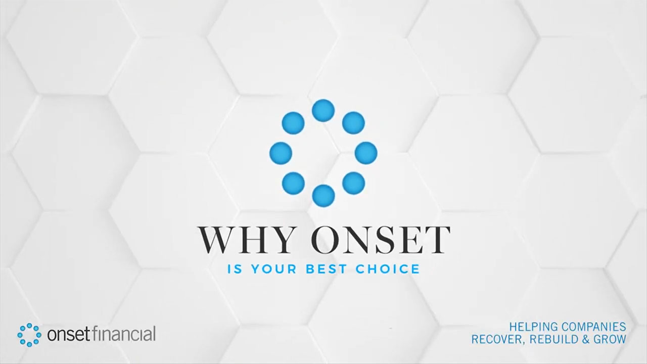Why Onset Financial is your best choice when it comes to leasing your equipment.