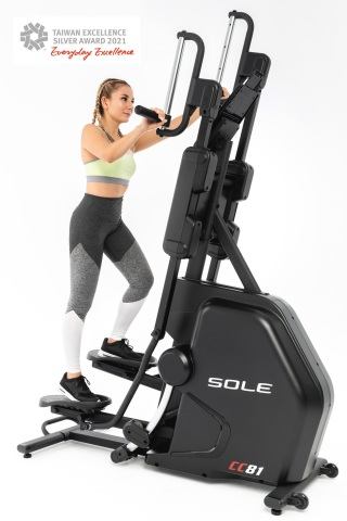 Dyaco - SOLE Fitness CC81 Cardio Climber (Graphic: Business Wire)