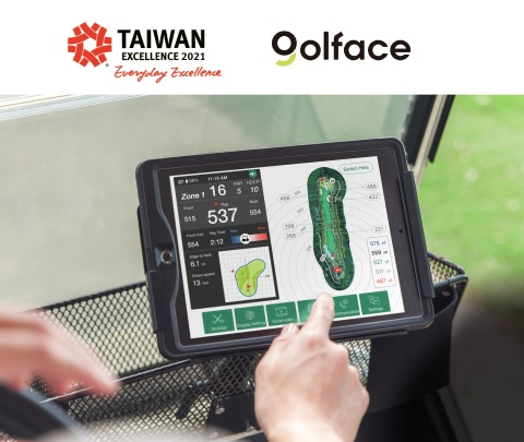 Golface - Golface Smart Golf Cart System (Graphic: Business Wire)