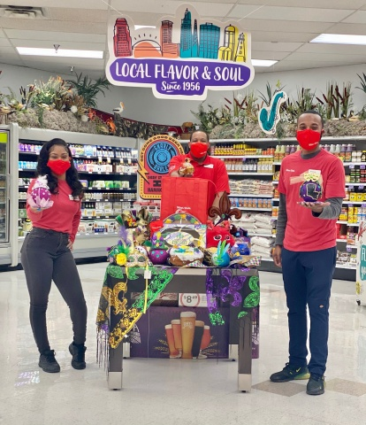 Winn-Dixie teams up with Ochsner Hospital for Children and Zulu Social Aid & Pleasure Club to keep carnival spirit alive. (Photo: Business Wire)