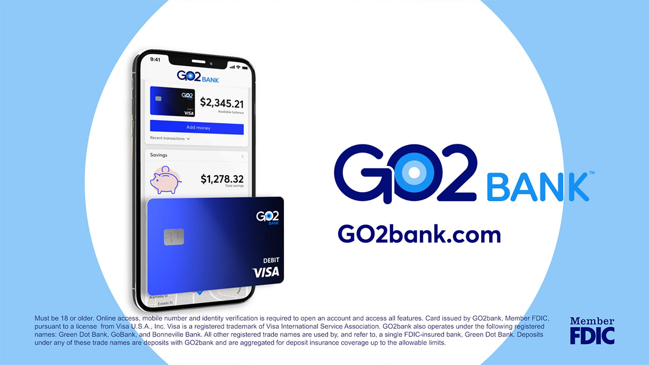 GO2bank TV Spot 2