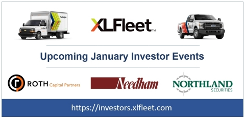 Upcoming January Investor Events (Graphic: Business Wire)