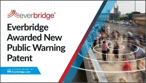 Everbridge Awarded New Public Warning Patent Enabling 5G Multicast Content Distribution (Graphic: Business Wire)