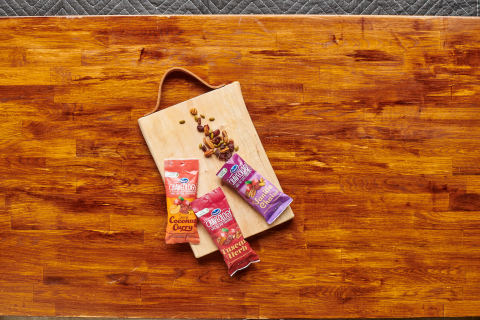 New Ocean Spray® Craveology™ Fruit and Nut Snack Mix uses ProActive Recyclable R-1000 film, which outperforms traditional polyethylene (PE) films (Photo: Business Wire)