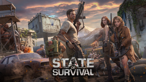 State of Survival, a zombie apocalypse strategy survival game, sees players team up and fight to salvage what remains of humankind. (Graphic: Business Wire)
