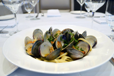 Linguine & Clams at Martorano's Prime at Rivers Casino Pittsburgh. (Photo: Business Wire)
