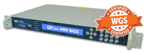 From  Teledyne Paradise Datacom, the WGS-certified QFlex-400 satellite communications modem. (Photo: Business Wire)