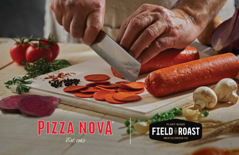 Starting Jan. 11, Toronto-based Pizza Nova will offer Field Roast Plant-Based Pepperoni. This is the first time the new Field Roast product will be available to anyone, anywhere.