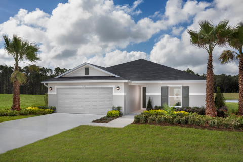 KB Home enters Titusville market and announces the grand opening of Verona, a new-home community priced from the $250,000s. (Photo: Business Wire)