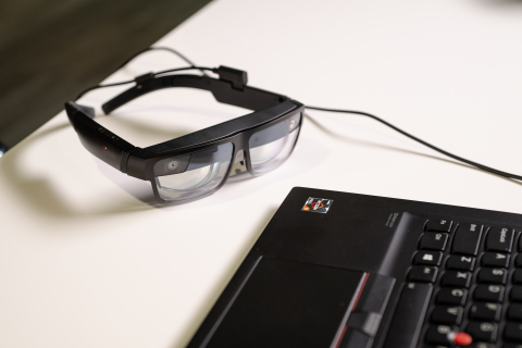 ThinkReality A3 Smart Glasses (Photo: Business Wire)