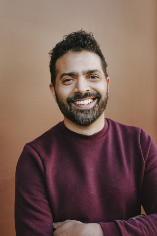 GoFundMe CMO Musa Tariq. Photo credit: Summer Wilson