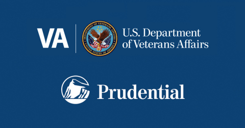 Prudential partners with US Department of Veterans Affairs to support military community's financial well-being (Graphic: Business Wire)