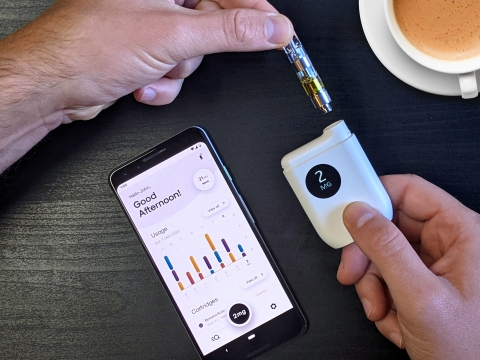 Introducing Mode: The World's First Smart Cannabis Dosing Device (Photo: Business Wire)